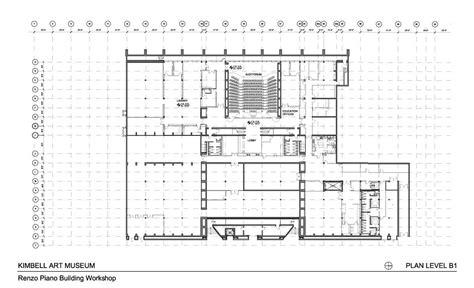 building layout en español pavilion by renzo piano in the kimbell art museum metalocus