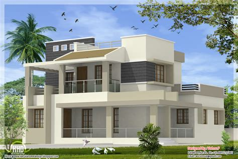 small kerala type contemporary house modern house