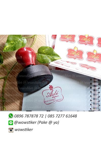 Stiker Label Pengiriman Barang Kode 24 wow stiker stempel