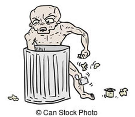 puzzolente rifiuti illustrazione puzzolente rifiuti