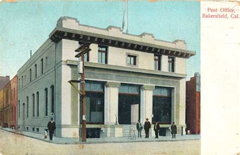 Tehachapi Post Office by Postcards From Kern County California