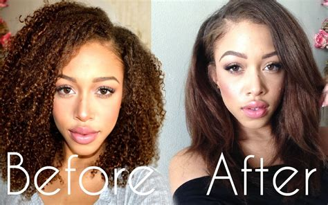 Kinky, Curly Hair: Blow Out, Straighten, Curl   YouTube