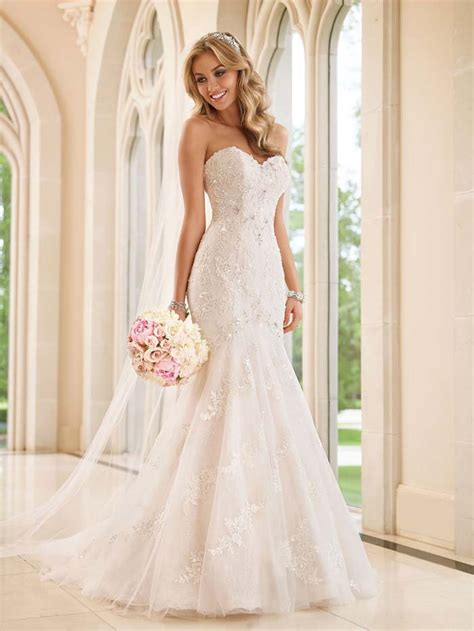 stella york spring 2015 wedding dress collection modern