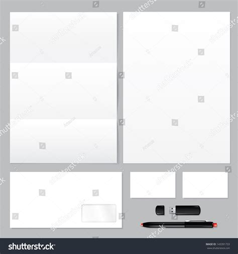 flash card template card stock paper set corporate identity templates blank envelope stock
