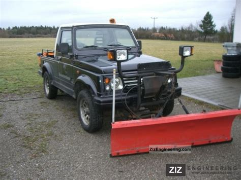 Snow Plow For Suzuki Samurai Suzuki Samurai Wheel Td Winterdienst 2000 Other Vans