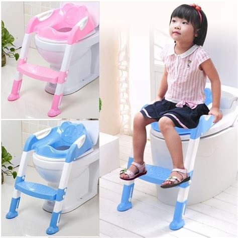 baby toddler potty toilet trainer safety seat chair step