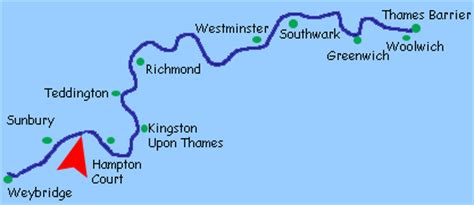 river thames map from source to sea river thames