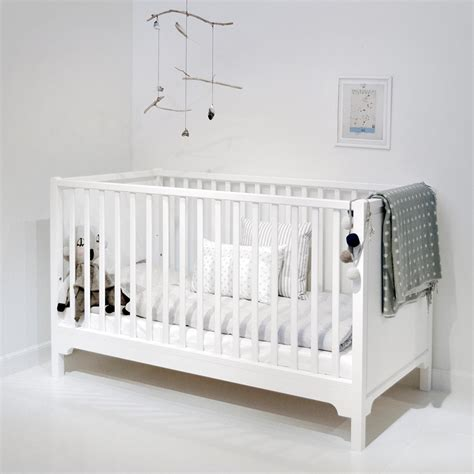 white baby beds 6 in 1 baby toddler luxury cot bed in white nursery