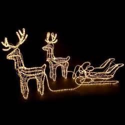 leuchtfiguren garten bol led rendier arrenslee kerstverlichting