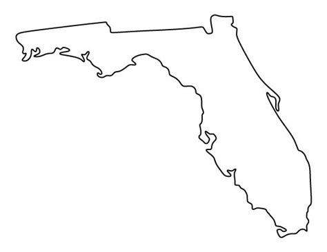 template of state florida pattern use the printable outline for crafts creating stencils scrapbooking and more