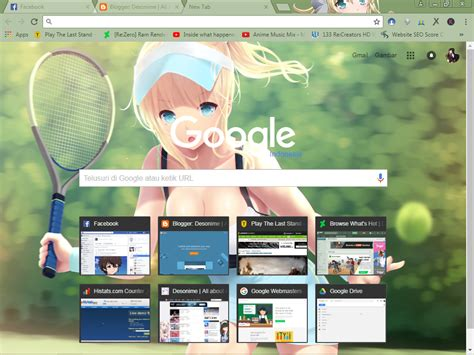 themes google chrome anime anime google chrome themes desonime all about anime is