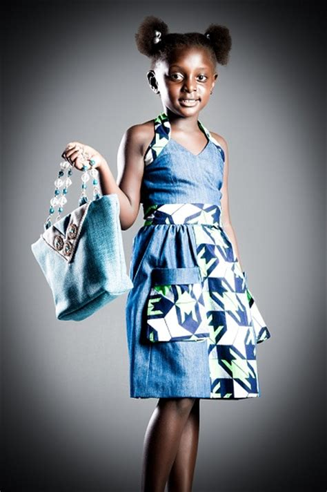 glamboxbeautiful makeup   hallmark denim kitenge childrens collection  eve collections