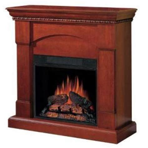 Charmglow Electric Fireplace Charmglow 23 In White Electric Fireplace 268 80 With