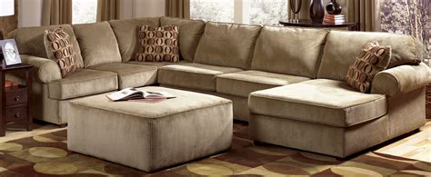 Family Room Sectional Sofas Furniture Cheap Beige Sectional Design With Square Table And Rugs For Living Room Design