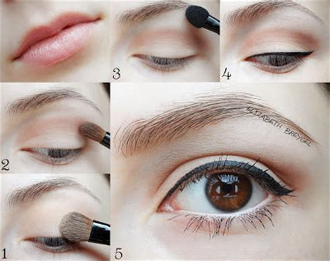 tutorial make up natural sehari2 beauty tips cara makeup natural simple minimalis untuk