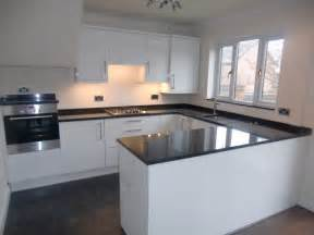 Kitchen modern white kitchen cabinets with black countertops miu
