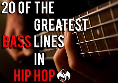Garageband Hip Hop Bass Editorial 20 Of The Greatest Bass Lines In Hip Hop