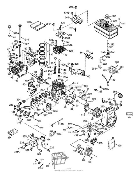 tecumseh lh358sa 159638a parts diagram for engine parts