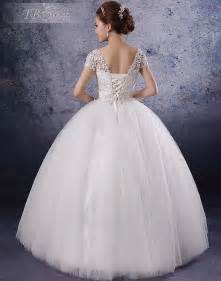 unique princess wedding dress with corset back sang maestro