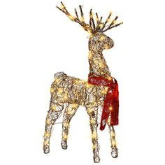 grapevine reindeer on e bay outdoor decorations outdoor and snowflakes on