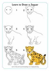 How To Draw A Jaguar Lean To Draw A Chimpanzee