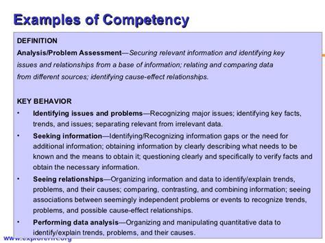competency framework exles images