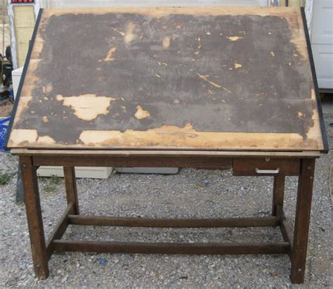 Anco Bilt Drafting Table Anco Bilt Vintage Drawing Drafting Table 1960s Glendale New York Mid Century