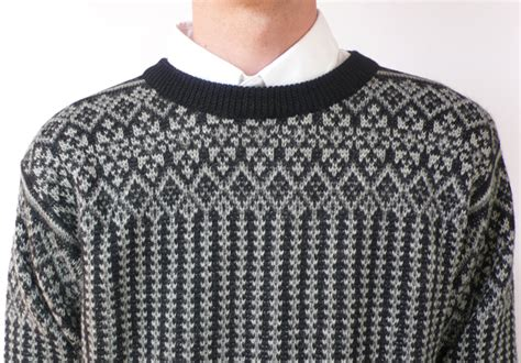 norwegian pattern jumper patrik ervell norwegian sweater