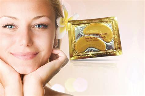 Masker Mata Gel By Satilik collagen gold eye mask 6gr miss lie collection