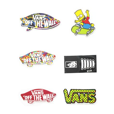 Motorcycle Wall Stickers online buy wholesale vans skateboard from china vans