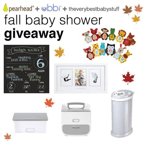Baby Stuff Giveaway - ubbi pearhead fall baby shower giveaway 400 prize the very best baby stuff