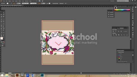 tutorial membuat desain undangan pernikahan cara membuat cover depan undangan pernikahan model 36