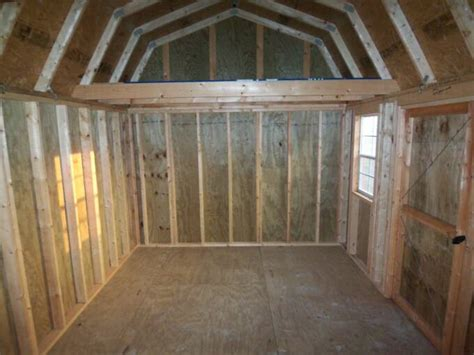 Pics Inside 14x32 House by 12x16 Garden Shed Graceland Portable Buildings Price Quotes