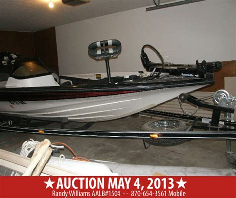 boat public auction may 4 2013 sports cars shop equipment lawn mower