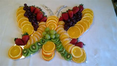 butterfly shaped fruit tray party tray pinterest