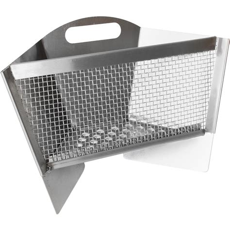 Caliber Pro Stainless Steel Rotisserie Charcoal Basket