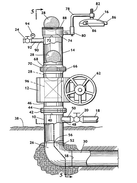 Patent US6769152 - Launcher for passing a pig into a