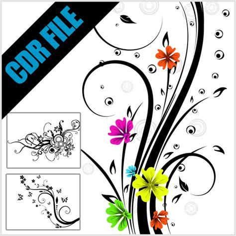 desain grafis format cdr 40 floral ornament format cdr gratis cinta desain