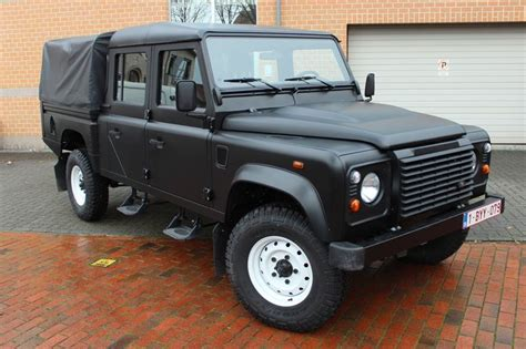 land rover defender matte black land rover defender in matte black car wrapping