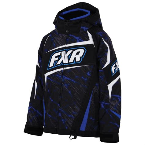 youth fxr insulated helix jacket 637550 snowmobile