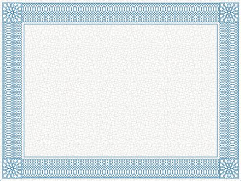 background templates for certificates powerpoint certificate template ornate border elearningart