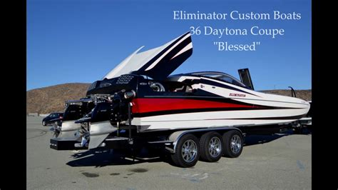 eliminator boats youtube eliminator custom boat blessed youtube
