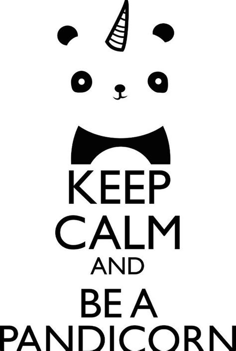 imagenes de keep calm blanco y negro pandicorn image 3525815 by kristy d on favim com