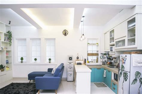 ruang keluarga digabung  dapur  kok