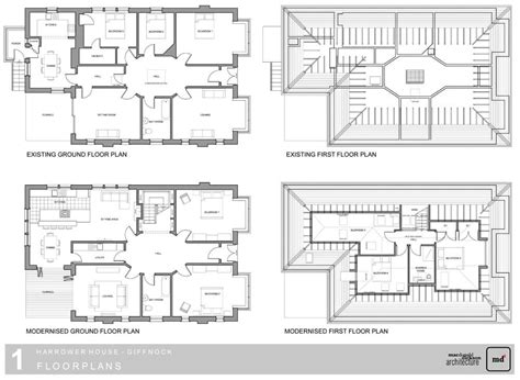loft conversion floor plans harrower loft conversion giffnock from macdonald dickson
