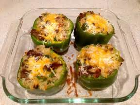 dessertation stuffed green peppers recipe