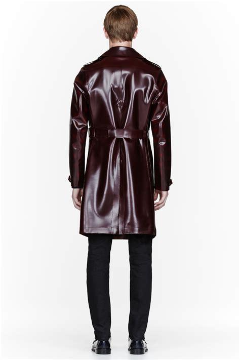 pvc vinyl trench coats black pvc trench coat tradingbasis