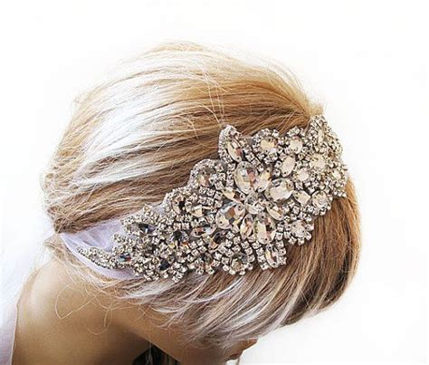 hairstyles with plastic headband wedding crystal headband wedding hairstyle hair