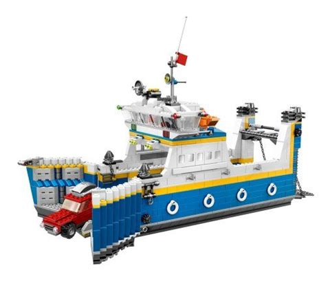 lego ferry boat 7 cool ship themed lego sets for sailors