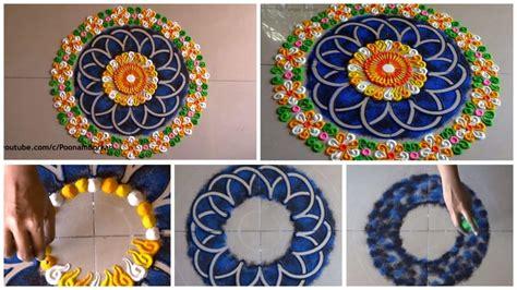 beautiful and unique multicolored rangoli design diwali more any crafts t rangoli designs design and beautiful